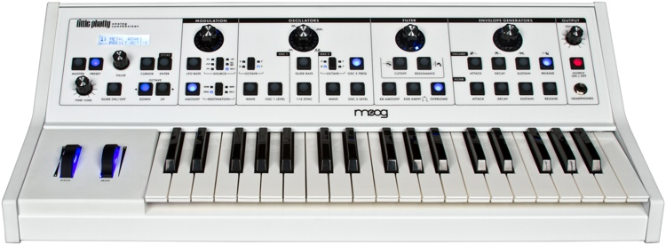 Moog Little Phatty Stage II - Limited Edition White image 1