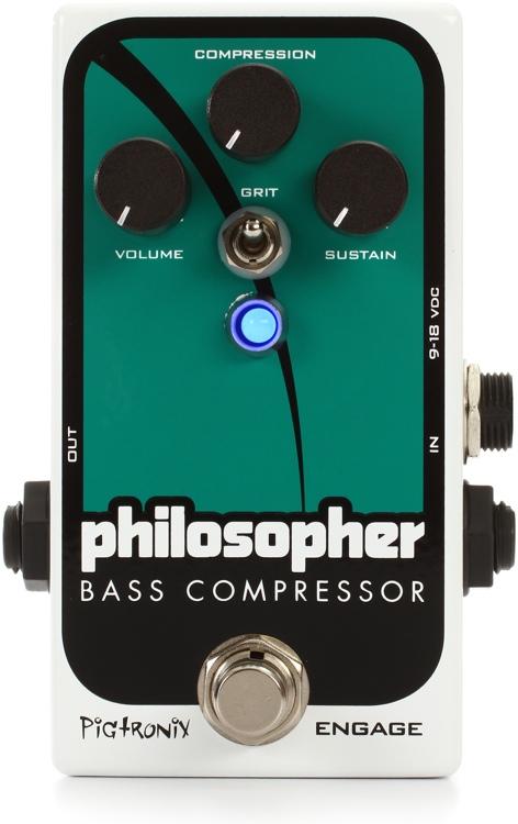 Pigtronix Philosopher\'s Bass Compressor Pedal image 1