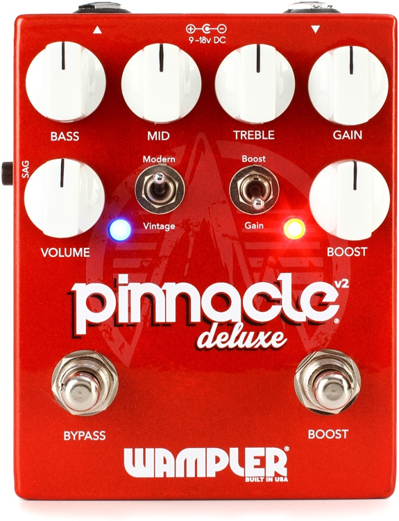 Wampler Pinnacle Deluxe V2 Overdrive image 1