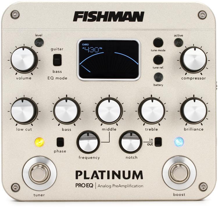 Fishman Platinum Pro EQ/DI Analog Preamp Pedal image 1