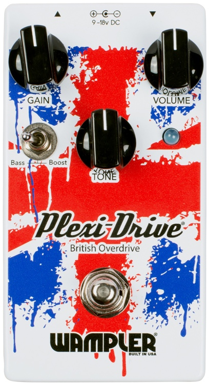 Wampler Plexi-Drive British Overdrive Pedal image 1
