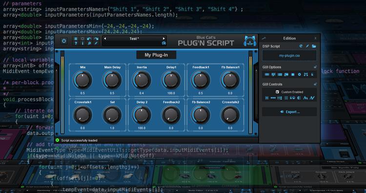 Blue Cat Audio Plug\'n Script image 1