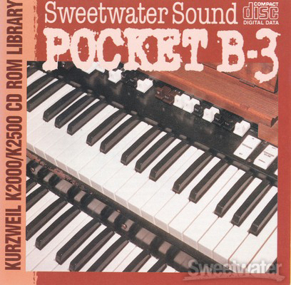 Sweetwater Pocket B-3 Upgrade CD image 1