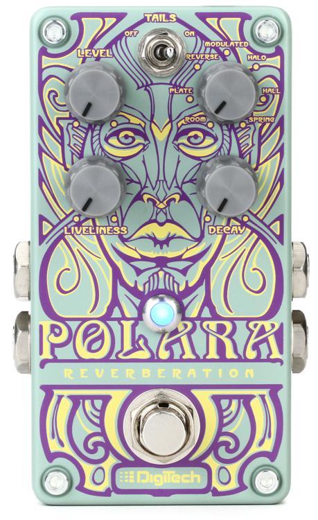 DigiTech Polara Stereo Reverb Pedal image 1