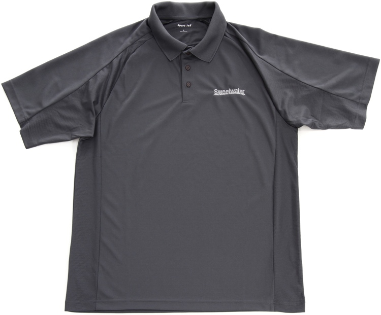 Sweetwater Sport Mesh Polo Shirt - Steel, XX-Large image 1