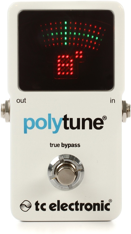 TC Electronic PolyTune 2 Polyphonic LED Guitar Tuner Pedal image 1