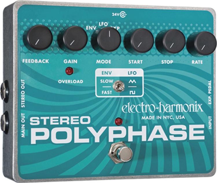 Electro-Harmonix XO Series Stereo Polyphase image 1