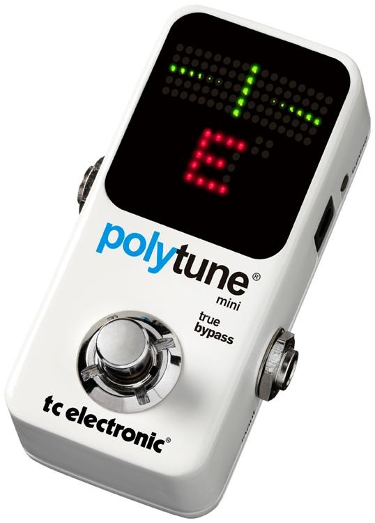TC Electronic PolyTune Mini Polyphonic Tuning Pedal image 1