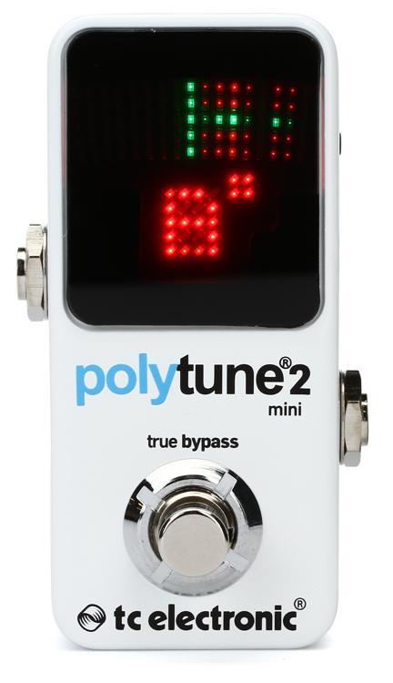 TC Electronic PolyTune 2 Mini Polyphonic Tuning Pedal image 1