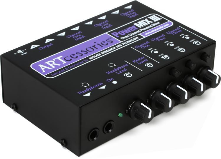 ART PowerMIX III Stereo Line Mixer image 1