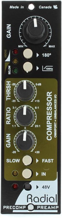 Radial PreComp Microphone Preamp & Compressor image 1