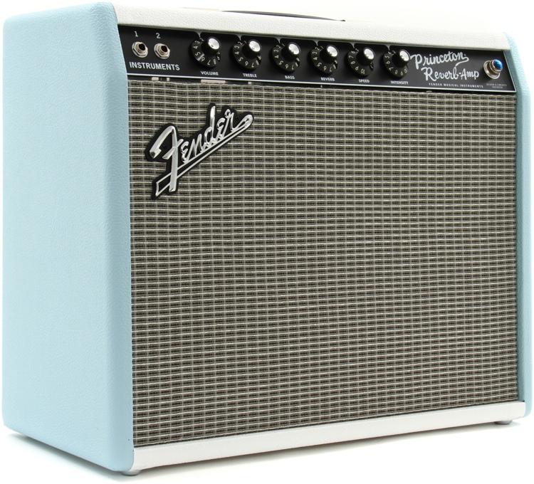 Fender \'65 Princeton Reverb FSR - Surf-Tone Blue image 1