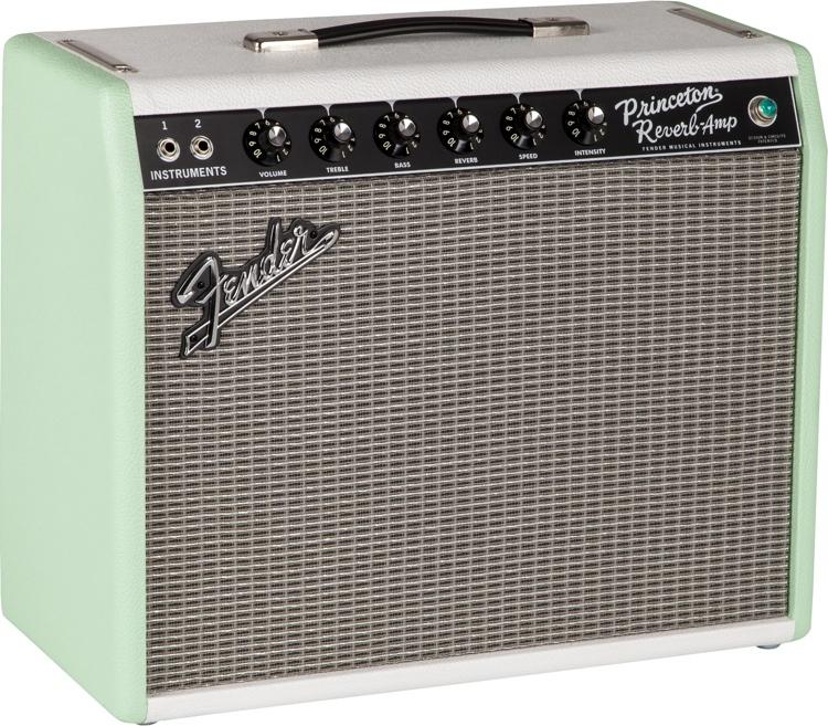Fender \'65 Princeton Reverb FSR - Surf-Tone Green image 1