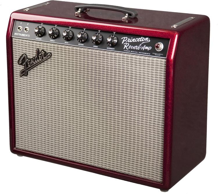 Fender \'65 Princeton Reverb - FSR - Sparkle Red image 1