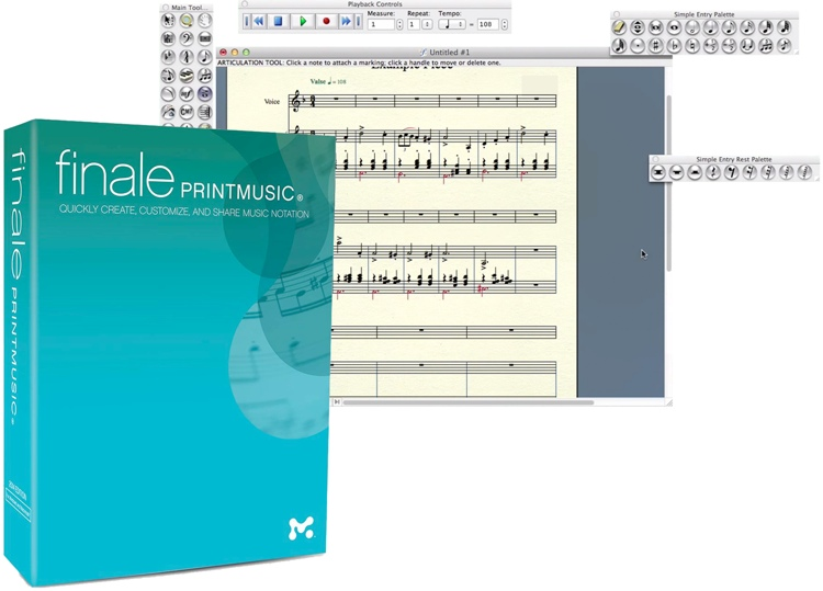 MakeMusic Finale PrintMusic 2014 (boxed) image 1
