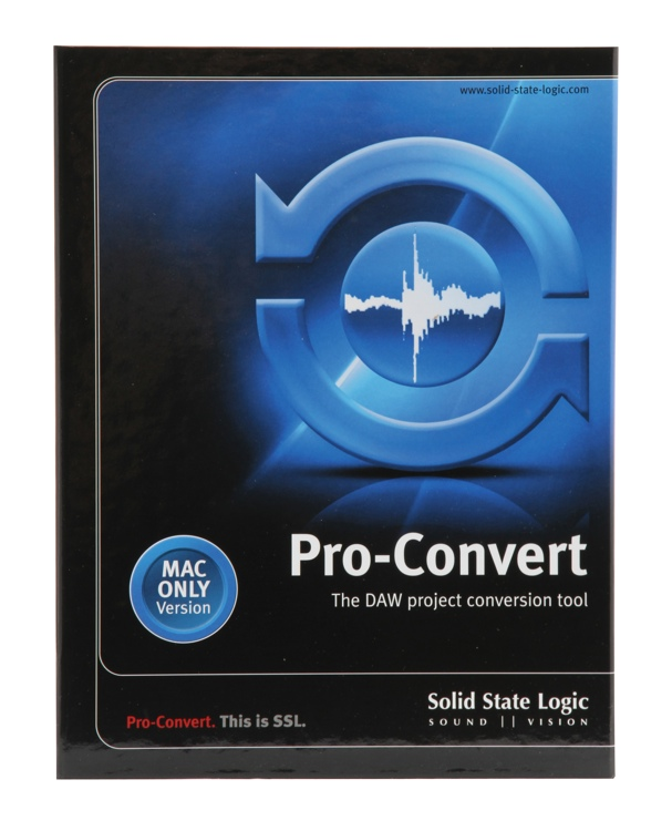 Solid State Logic Pro-Convert - v5.0 for Mac image 1