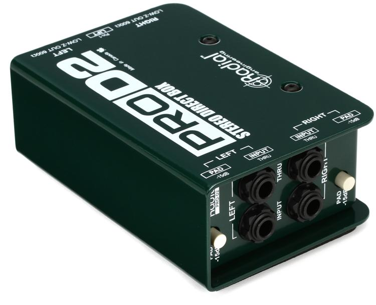 Radial ProD2 2-channel Passive Instrument Direct Box image 1