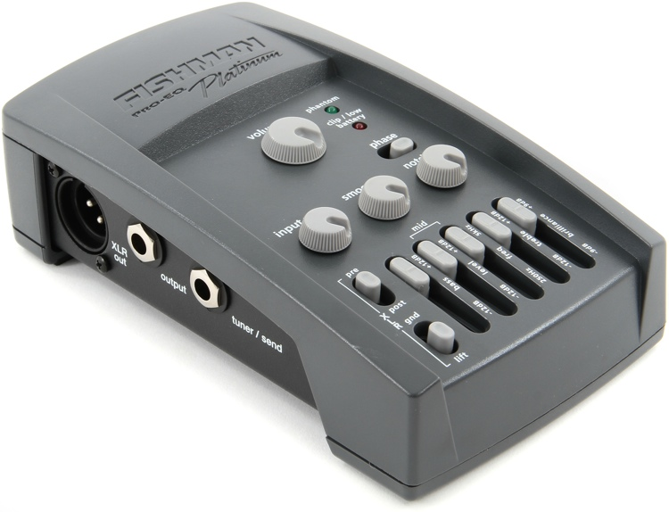 fishman pro eq platinum preamp eq d i sweetwater. Black Bedroom Furniture Sets. Home Design Ideas