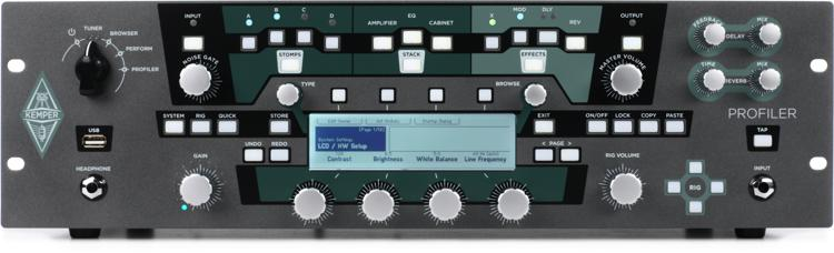 Kemper Profiler Power Rack - 600-watt Rackmount Profiling Amp Head image 1