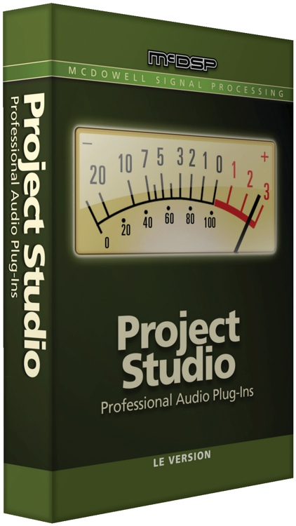 McDSP Project Studio LE - Electronic Delivery image 1