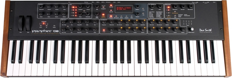 Dave Smith Instruments Prophet \'08 PE 61-key 8-voice Analog Synthesizer image 1
