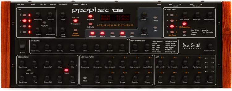 Dave Smith Instruments Prophet \'08 Module 8-voice Analog Synthesizer image 1