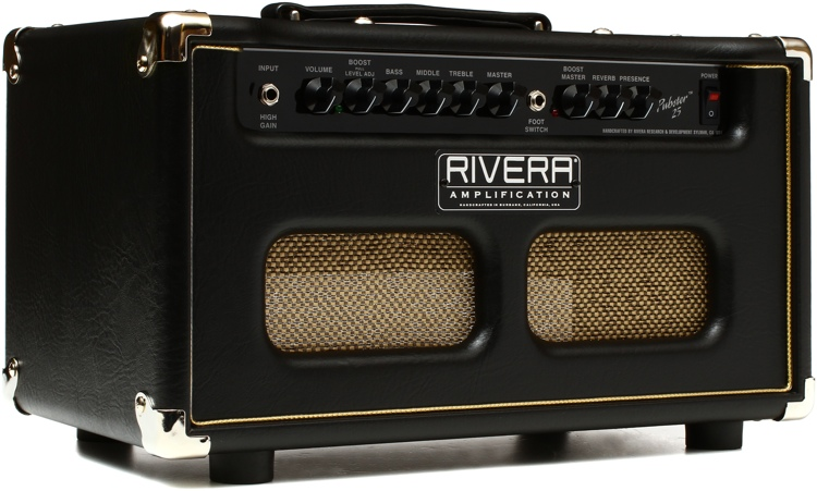 Rivera Pubster 25 - 25-watt Tube Head image 1