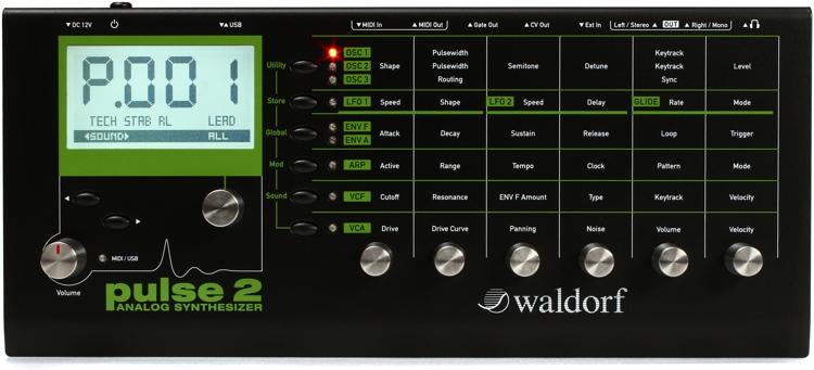 Waldorf Pulse 2 Analog Synthesizer image 1