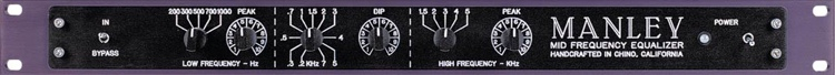 Manley Pultec Mid Frequency image 1