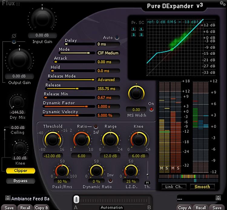 Flux:: Pure DExpander v3 Plug-in image 1