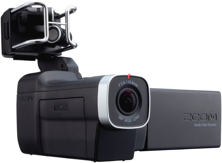 Zoom Q8 HD Camcorder w/ Interchangeable Mic Capsule System image 1