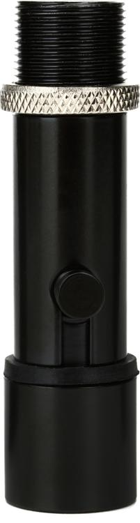 On-Stage Stands QK-2B Quik-Release Mic Adapter - Black, Single image 1