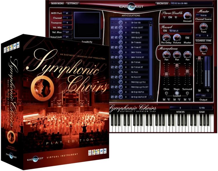 EastWest / Quantum Leap Symphonic Choirs - Platinum Edition (DVD) image 1