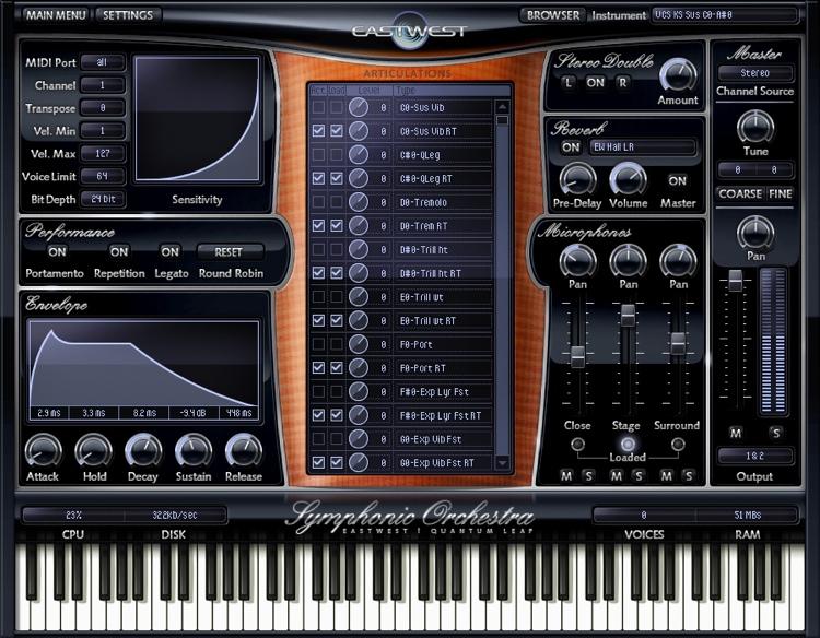 EastWest /Quantum Leap Symphonic Orchestra Gold Complete image 1