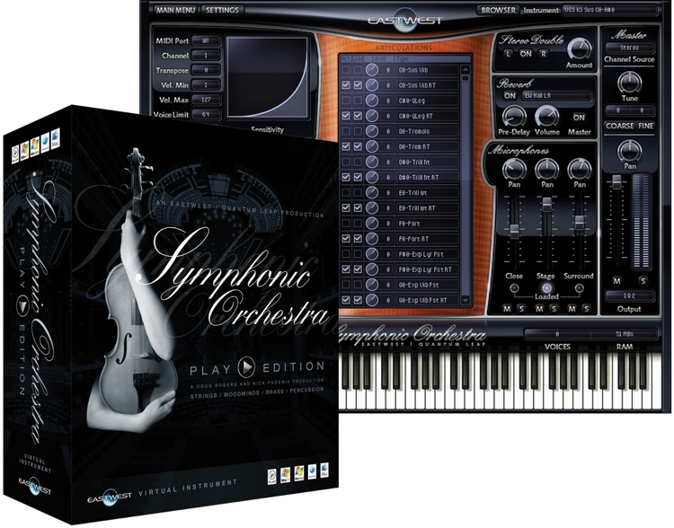 EastWest Symphonic Orchestra Silver Complete image 1