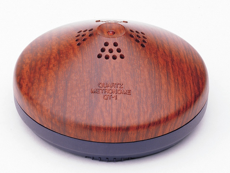 Yamaha QT1 Metronome - Wood Grain Finish image 1