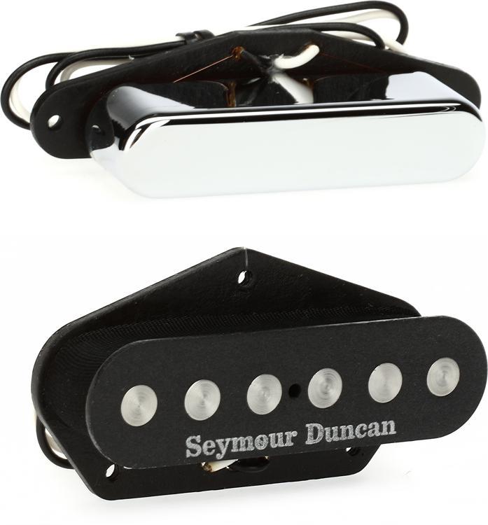 Seymour Duncan Quarter Pound Tele Pickup Set - Black image 1