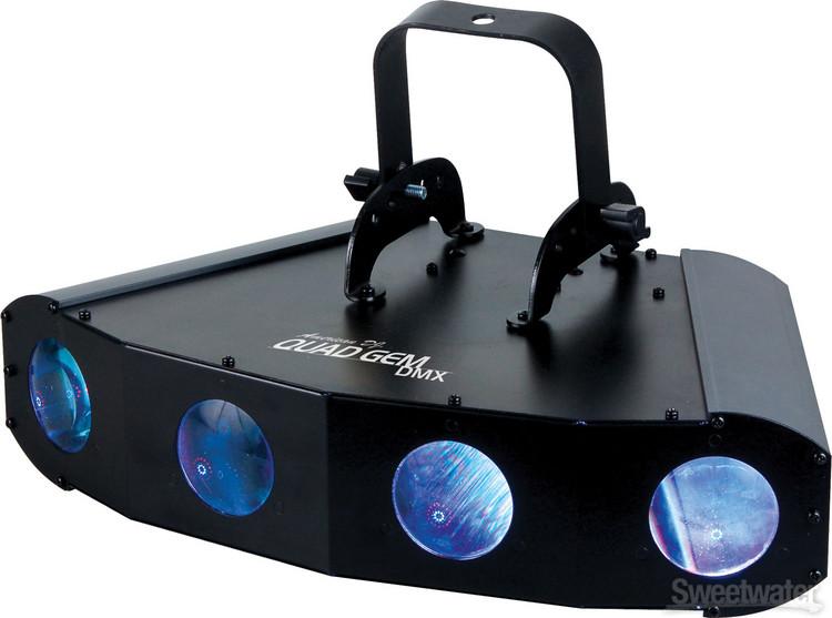 ADJ Quad Gem LED DMX 4-Lens RGBW Moonflower image 1