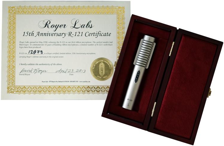 Royer R-121 Studio - 15th Anniversary image 1