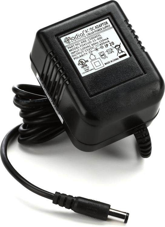 Radial R15DC-US Radial and Tonebone 15V Power Supply image 1