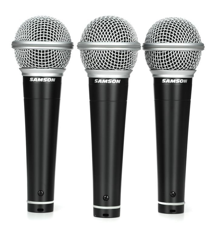 Samson R21 Microphone 3-pack image 1
