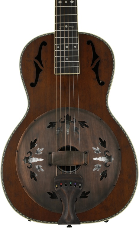 Washburn R360K Parlor Resonator - Natural image 1