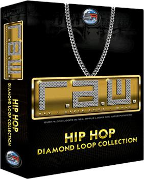 Sonic Reality R.A.W. Hip Hop Diamond Loop Collection image 1