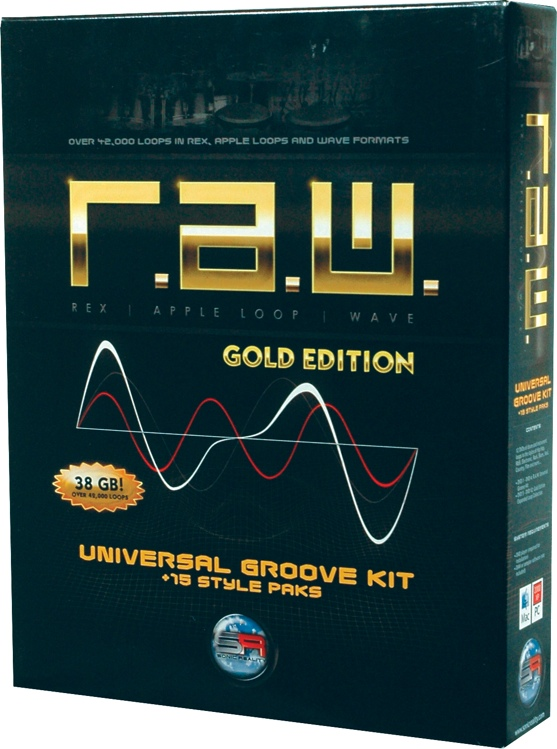 Sonic Reality R.A.W. Gold Edition Loop Collection image 1