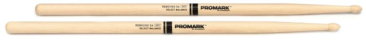 Promark Rebound Balance Hickory Drum Sticks - .565
