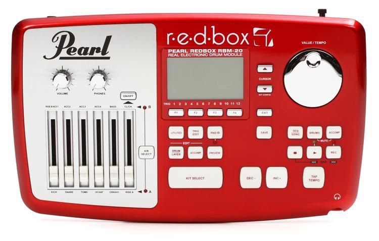 Pearl r.e.d.box Sound Module image 1