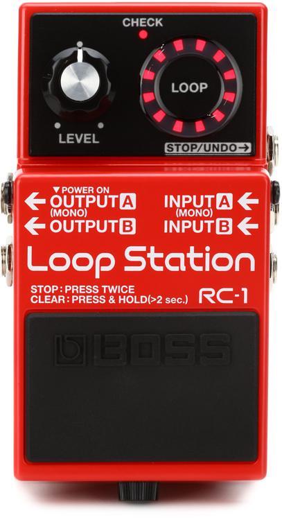 Boss RC-1 Loop Station Looper Pedal image 1