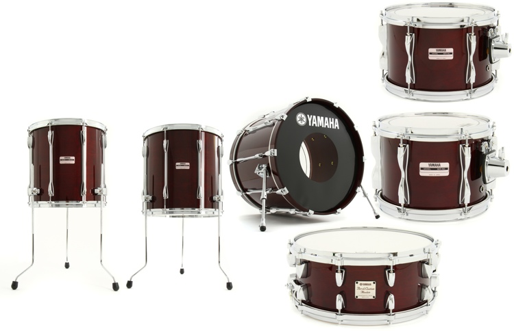 Yamaha Recording Custom 6-piece Shell Pack image 1