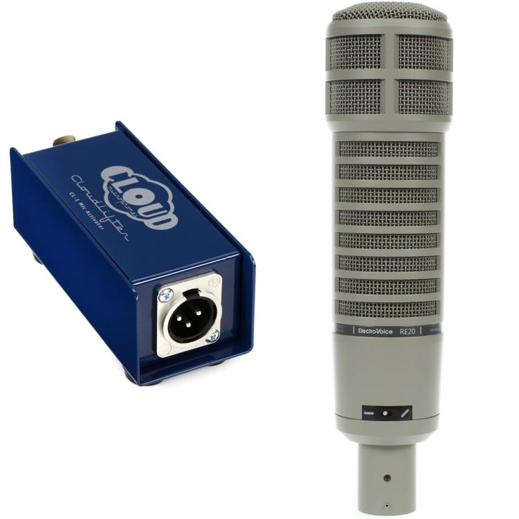Electro-Voice RE20 with Cloudlifter CL-1 image 1