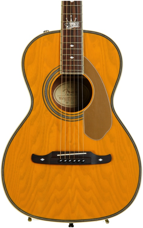 Fender Ron Emory Loyalty Parlor - Butterscotch, Parlor image 1